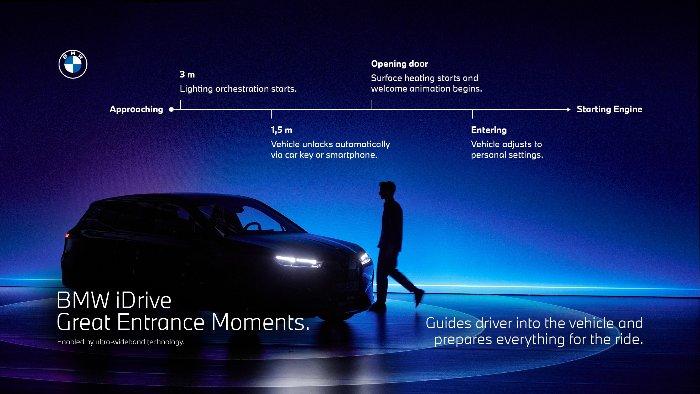 iDrive Great Entrance Moments