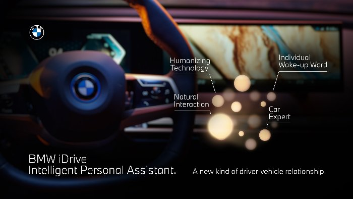 BMW iDrive Intelligent Personal Assistant