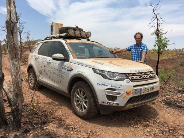 Auto-Testfahrt Australien Outback