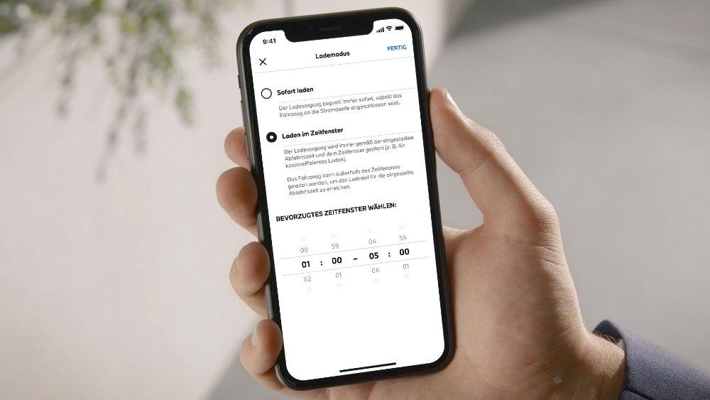 BMW App Timer laden Standheizung