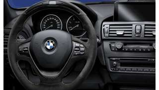 BMW M Performance Lenkrad Alcantara mit Carbonblende und Race-Display