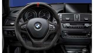 BMW M Performance Lenkrad Alcantara mit Carbonblende