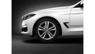 BMW Winterkompletträder V-Speiche 658 reflexsilber 18 Zoll RDCi 3er F34 GT