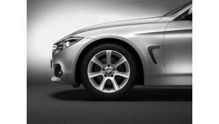 BMW Winterkompletträder Sternspeiche 394 reflexsilber 17 Zoll RDCi mit Pirelli W210 Sottozero S2 r-f* für 3er F34 GT