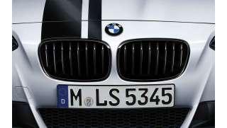 BMW M Performance Frontziergitter Schwarz hochglanz F20 F21