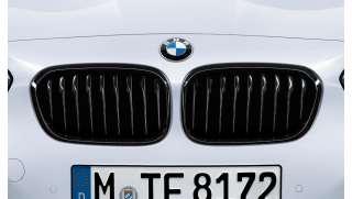 BMW Performance Frontziergitter Schwarz 1er F20 LCI F21 LCI