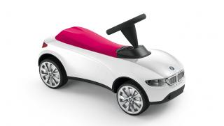 Baby Racer BMW Weiß-Himbeerrot