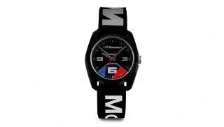 BMW M Motorsport Uhr schwarz