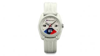 BMW M Motorsport Uhr weiß