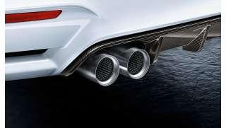 BMW M Performance Endrohrblenden Titan M2 F87 M3 F80 M4 F82 F83M