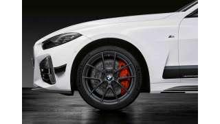 BMW Kompletträder M Performance Y-Speiche 898 frozen gunmetal grey 19 Zoll 3er G20 G21 4er G22 RDC (Mischbereifung)