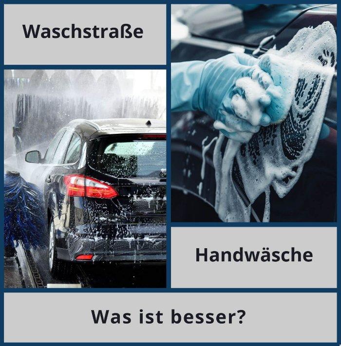 Handwäsche oder Waschstraße – was ist besser?